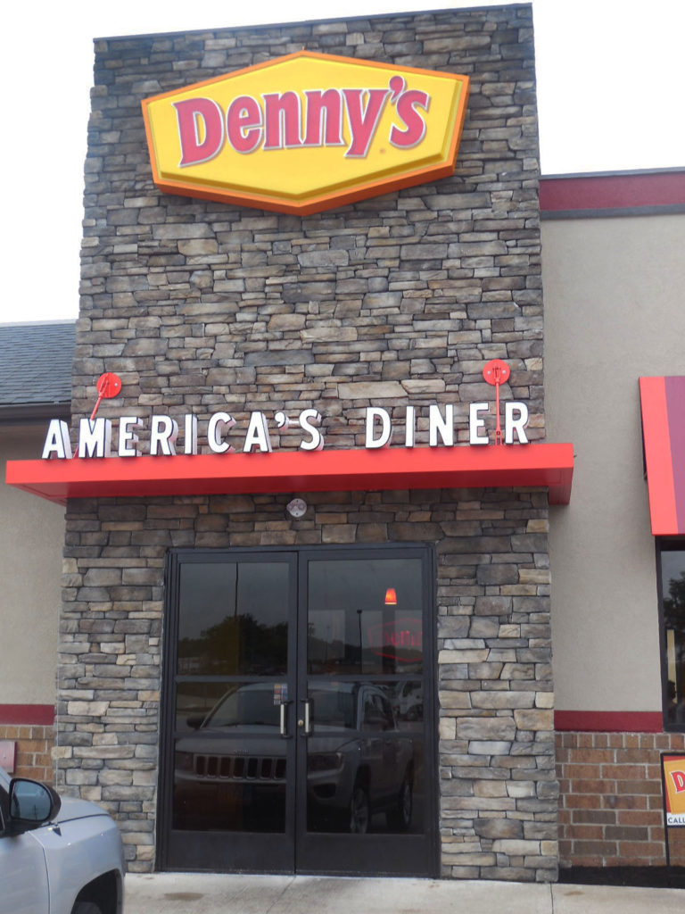 Denny's Restaurant Design and Build in Akron, Ohio by OSM